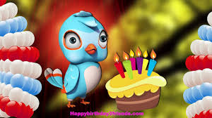 Happy Birthday Wishes In Songs Best Happy Birthday Song Funny Bird Singing Birthday Song