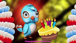singing birthday best happy birthday song bird singing birthday song