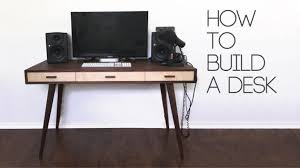 Desk Plans Diy 25 Creative Diy Computer Desk Plans You Can Build Today