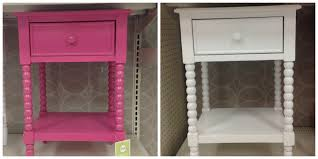Pink Nightstand Side Table Target Bedside Table Ivy Glass Table Lamp Target 49 Target