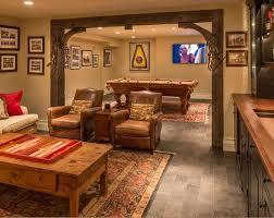 attractive yet functional basement finishing ideas for utilize the basement area with unique basement design ideas