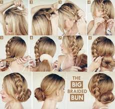 hair tutorial the big braided bun hair tutorial pictures photos and images for