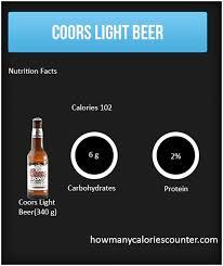 coors light calories pint coors light beer calories www lightneasy net