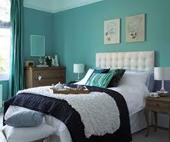 Painting One Wall Aqua Blue  Art Decorating Ideas Wall - Bedroom paint and decorating ideas