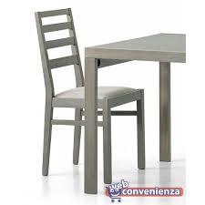 sedie rovere dama finitura rovere grigio
