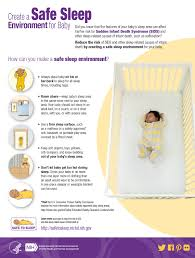 How To Sleep In A Chair Create A Safe Sleep Environment For Baby Infographic