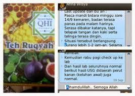 Teh Ruqyah teh ruqyah herbal qhi daun bidara untuk obat gangguan jin dan sihir