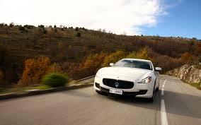 Maserati Quattroporte White Wallpaper Hd Desktop Wallpaper