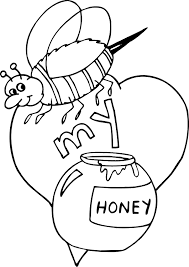 coloring pages bees coloring