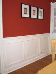 dining room wall trim home design