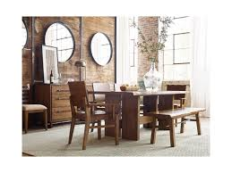 kincaid tuscano dining room set kincaid furniture traverse six piece dining set with cutler table