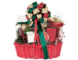 family gift baskets and other unique less expensive christmas