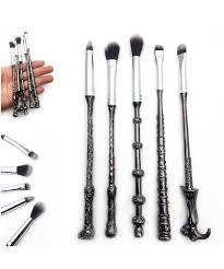 harry potter wand makeup brushes storybook cosmetics
