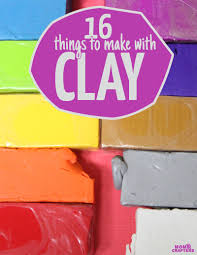 clay crafts that are perfect for moms and kids and in between