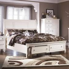 ashley prentice bedroom set ashley furniture prentice sleigh storage bedroom set in white
