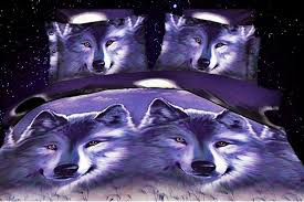 Wolf Bedding Set 3d Wolf Bedding Sets Size Bedspreads Quilt Duvet Cover