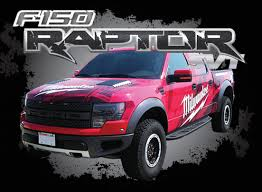 Ford Raptor Decals - warning curves ahead wisconsin screen process
