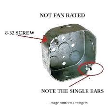 ceiling fan junction box ceiling fan electrical box kenfallinartist com