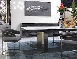 Luxury Marble Dining Table Nella Vetrina Visionnaire Ipe Cavalli Revenge Dining Chair In Marble