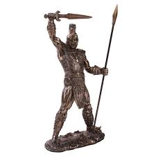 Statues For Home Decor by Achilles Greek Hero Bronze Statue By Derek W Frost Troy Soldier