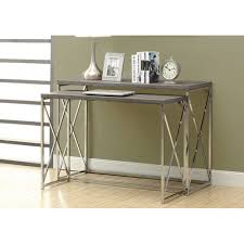 modern reclaimed console table u2014 rs floral design sleek