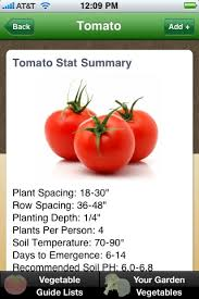 vegetable garden guide iphone and android app