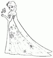 Coloring Princess Elsa Coloring Pages Free Printableprincess Princess Elsa Coloring Page Free Coloring Sheets