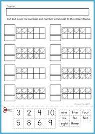 number homework pages number writing and counting practice