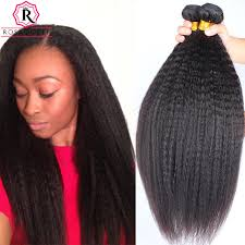 human hair extensions hair 7a mink hair weave bundles yaki