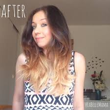 preference wild ombre on short hair how to ombré hair using l oréal féria extreme ombré la belle mama