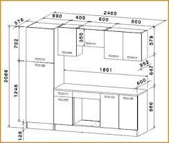 hauteur standard plan de travail cuisine taille standard meuble cuisine conception impressionnante hauteur