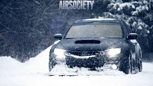 stanced subaru hd free subaru snow wallpapers full hd long wallpapers