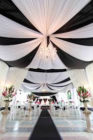 Appealing Black And White Wedding Ceremony Decorations 76 For