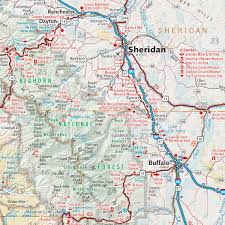 wy map wyoming recreation map benchmark maps