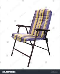 Padded Lawn Chairs Folding Padded Patio Chair Stock Photo 8486104 Shutterstock