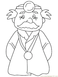 doctor photo colouring pages 2 coloring