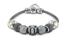 review pandora oxidised silver bracelet mora pandora