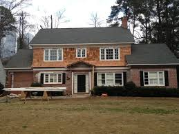 need help for exterior paint color options brick and cedar shingles