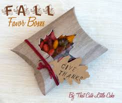 thanksgiving favor box diy catch my
