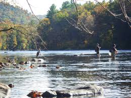 columbus day fishing on the upper hous hffahffa