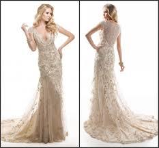 robe de mariã e en couleur 2015 comecap manches robe de mariée couleur chagne