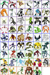 Can you name the Ben 10 aliens from their image? by THEJMAN ...
