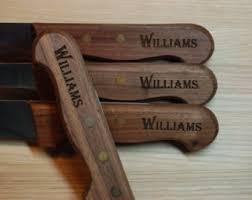 wedding gift knife set personalized steak knives steak knife set groomsmen gift