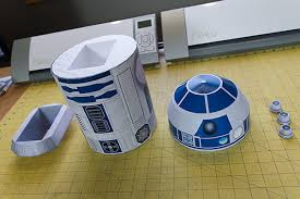 r2 a4 star wars inspired papercraft on behance