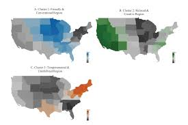 Us Regions Map U S Regions Exhibit Distinct Personalities Research Reveals