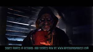 halloween horror nights scary tales 30 second a petrified forest nightmares and scary tales commercial