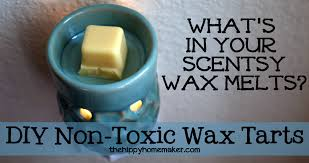 what u0027s in your scentsy wax melts diy non toxic wax tarts the