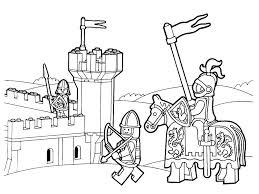 coloriage chevalier  spidnetinfo