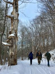 winter end to end puckering caledon bruce trail club