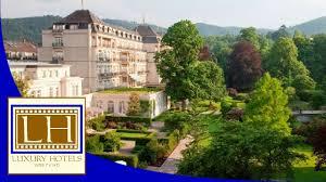 Baden Baden Hotels Luxury Hotels Brenners Park Hotel U0026 Spa Baden Baden Youtube